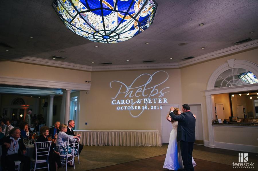 Vizcaya Sacramento Wedding with Mature Couple