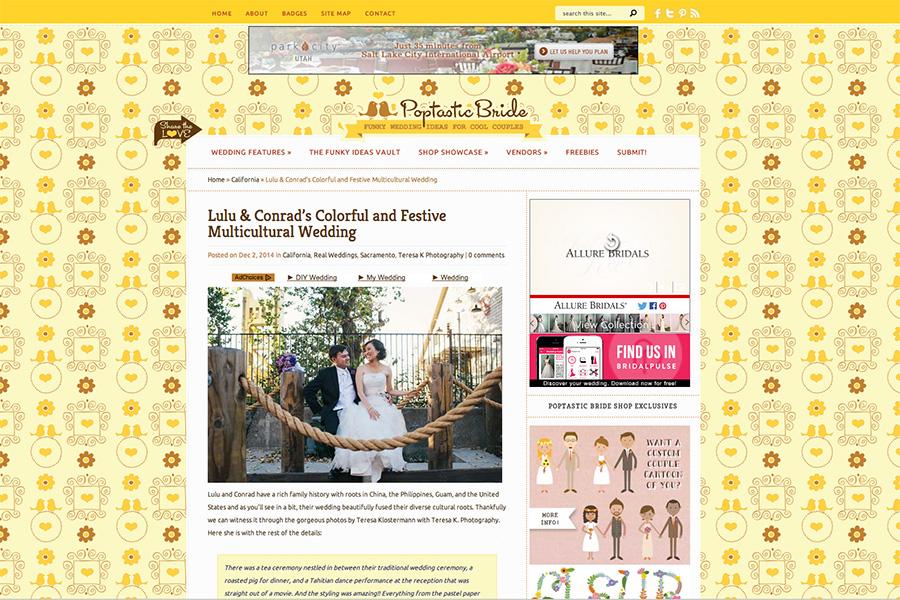 Sacramento Published Wedding Photographer