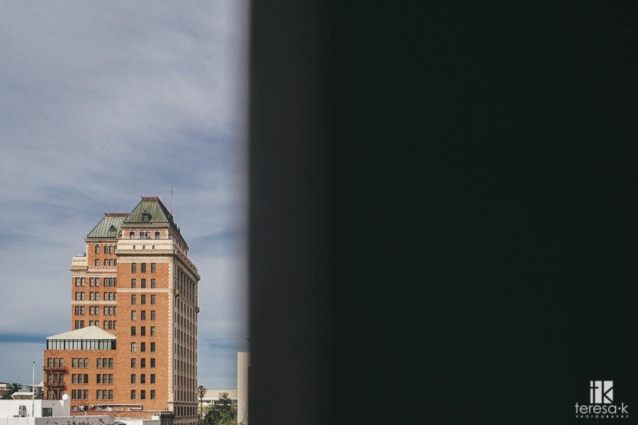 Sacramento Citizen Hotel Rooftop Elopement at Sunset