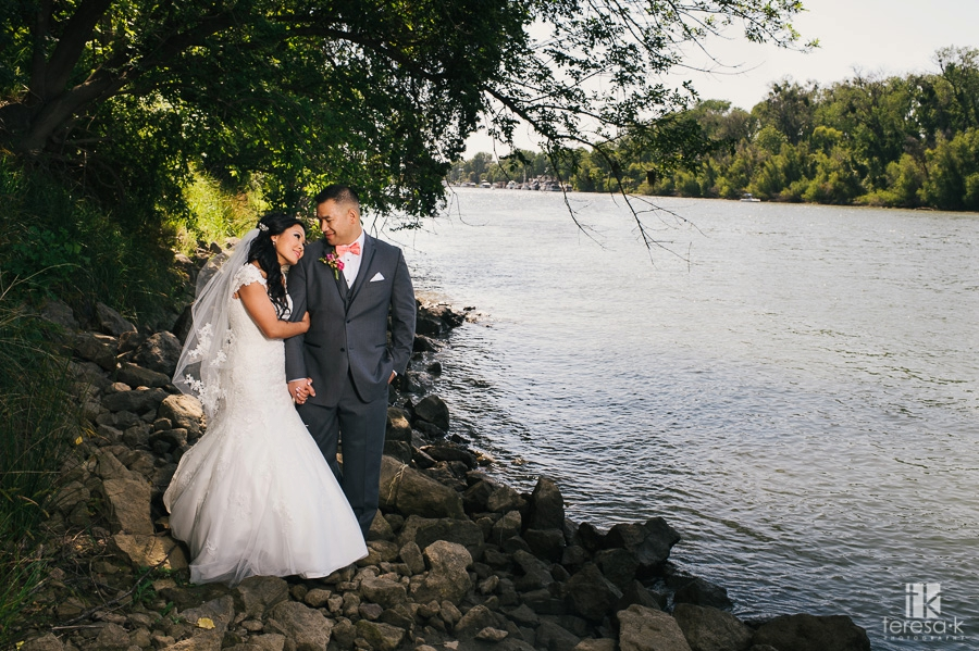 Wedding at Scott's Seafood on the River in the Westin 37