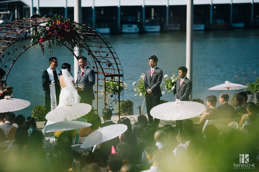 Wedding at Scott's Seafood on the River in the Westin 49