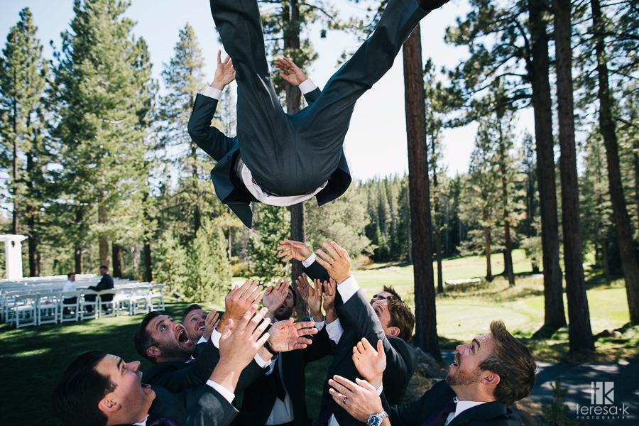 Summer Lodge at Tahoe Donner Truckee Wedding 21
