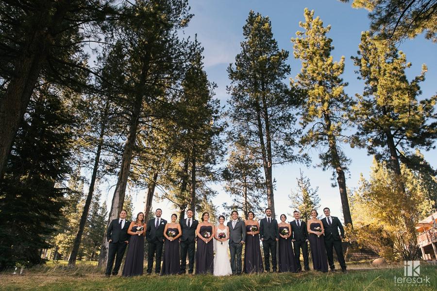 Summer Lodge at Tahoe Donner Truckee Wedding 37