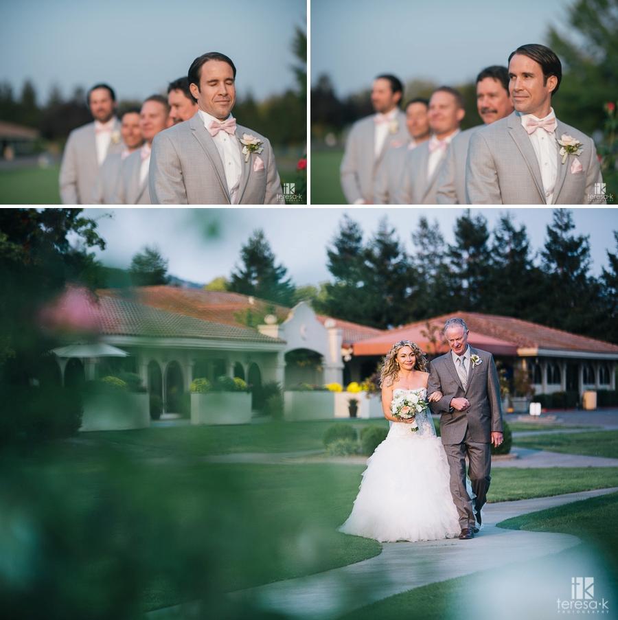 Wedgewood Foxtail Golf Club Wedding in Rohnert Park 24