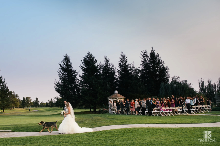 Wedgewood Foxtail Golf Club Wedding in Rohnert Park 39