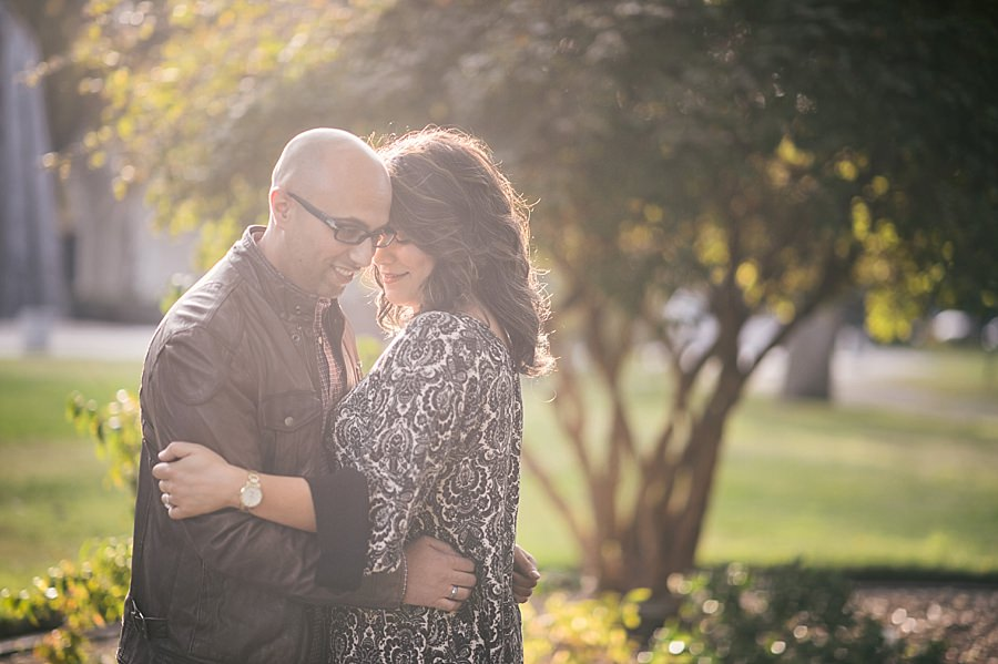 Downtown Sacramento engagement session