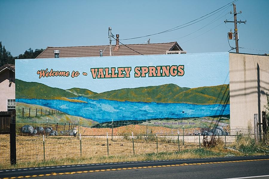 Vally Springs Private Estate wedding