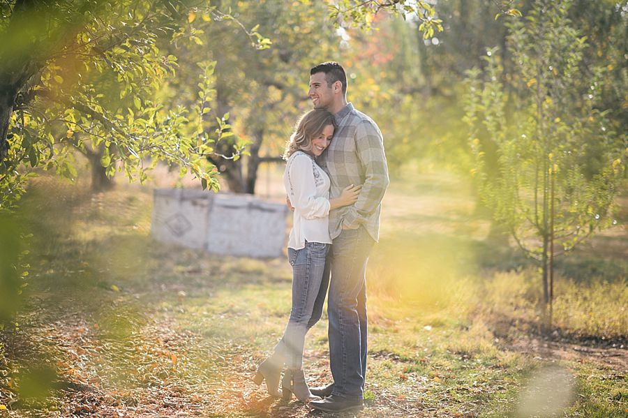 Apple Hill Engagement Session