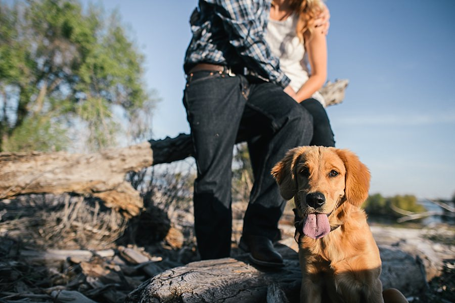 Folsom Lake Engagement Session